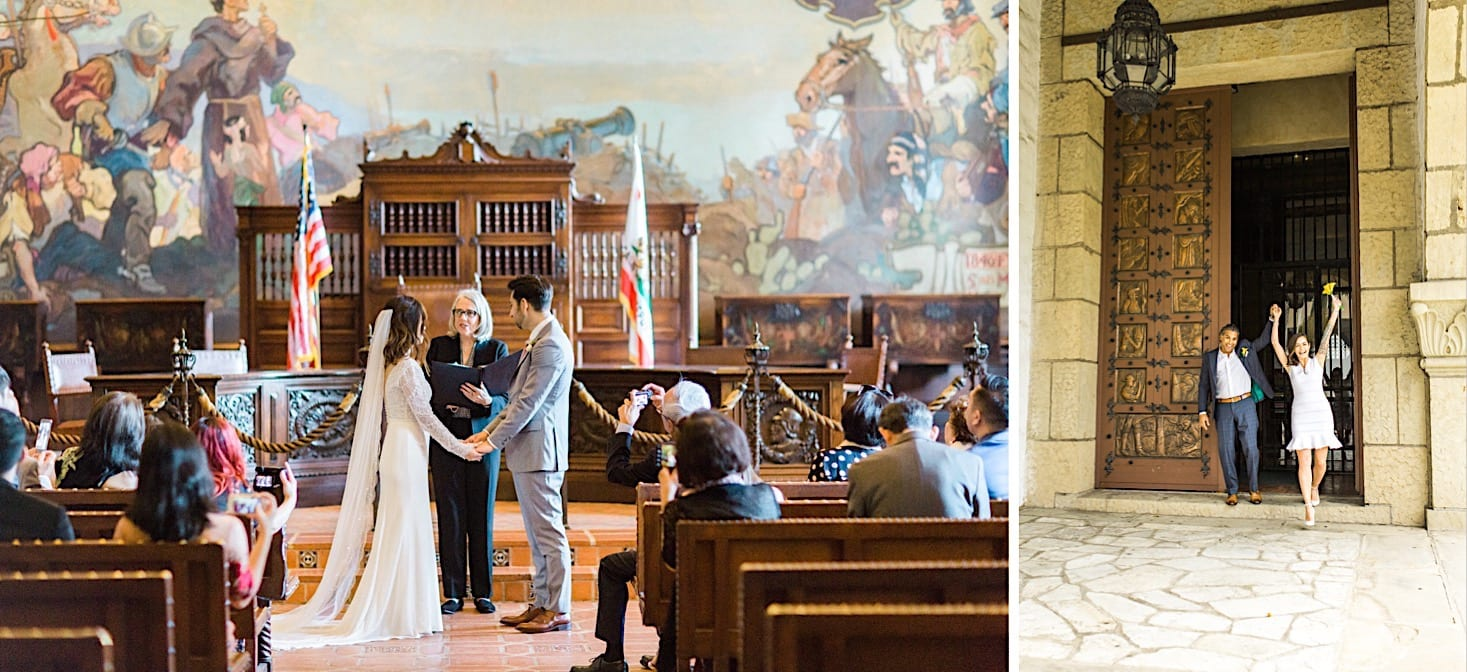 How to get married at the Santa Barbara Courthouse, Santa Barbara Courthouse Wedding, Wedding at Santa Barbara Courthouse, Getting married at the Santa Barbara Courthouse, How to elope at the santa barbara courthouse, santa barbara courthouse mural room wedding, santa barbara courthouse sunken gardens wedding, wedding at mural room santa barbara courthouse, santa barbara courthouse elopement, santa barbara courthouse, santa barbara wedding,