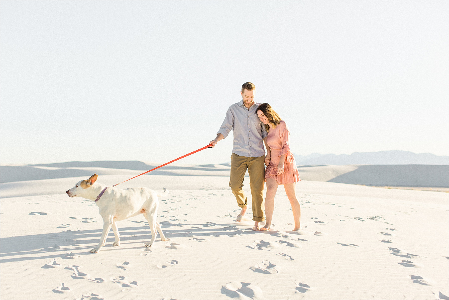 White Sands National Monument Engagement Photos, New Mexico Engagement Photographer, Sarah Ellefson Photography, White Sands New Mexico Photoshoot, White Sands Engagement Pictures, White Sands Photoshoot, White Sands Wedding